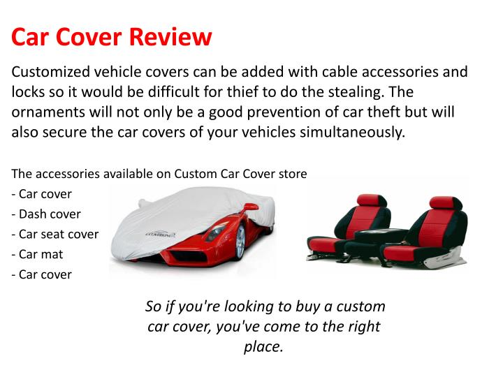 Car Cover Review