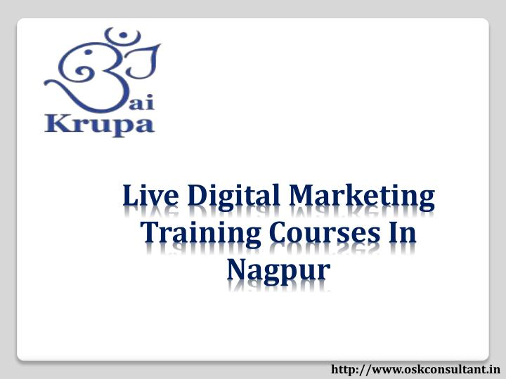 Live Digital Marketing Training Courses In Nagpur