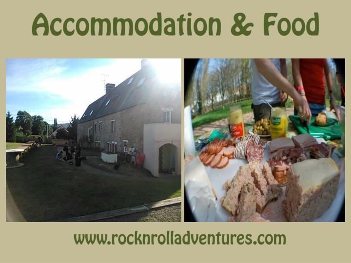 Accommodation & Food