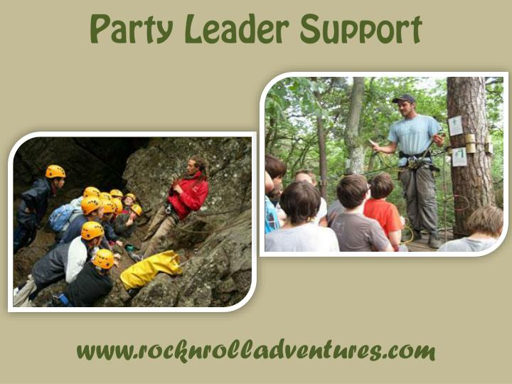 Party Leader Support