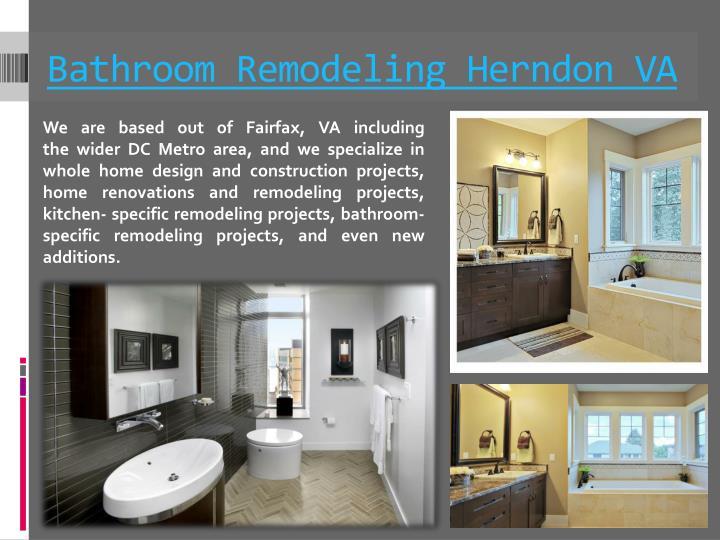 Bathroom Remodeling Herndon VA