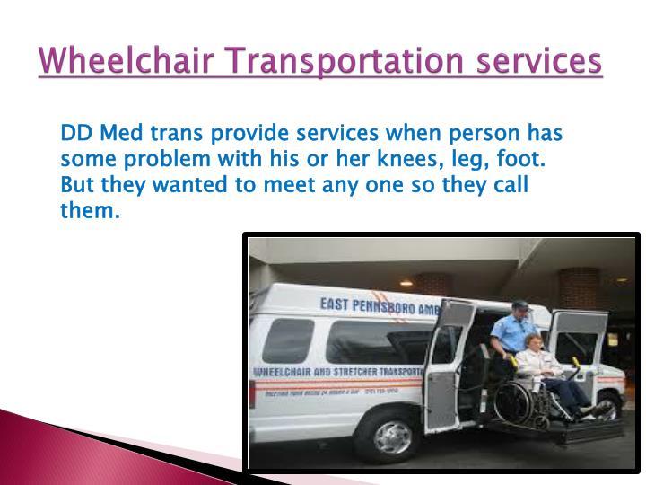 Wheelchair Transportation