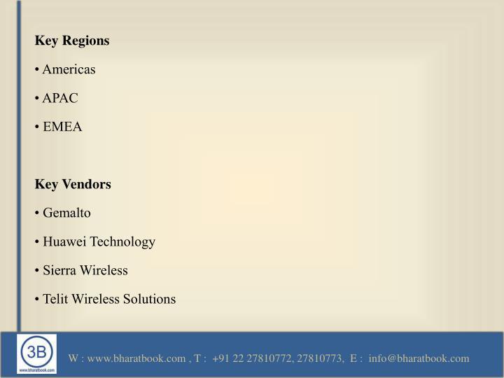 Key Regions