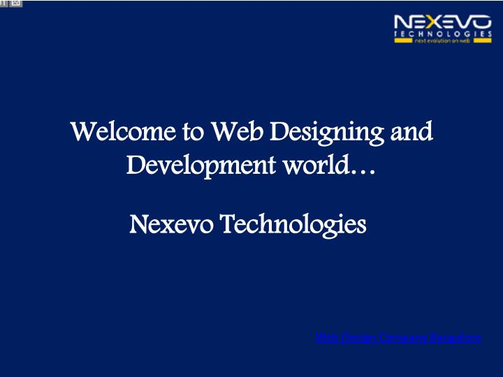 Welcome to Web Designing and Development world