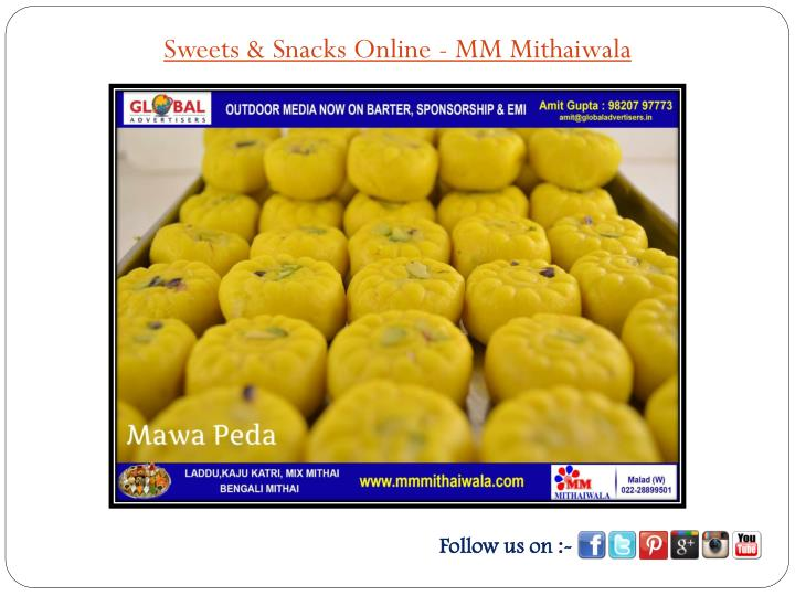 Sweets & Snacks Online - MM