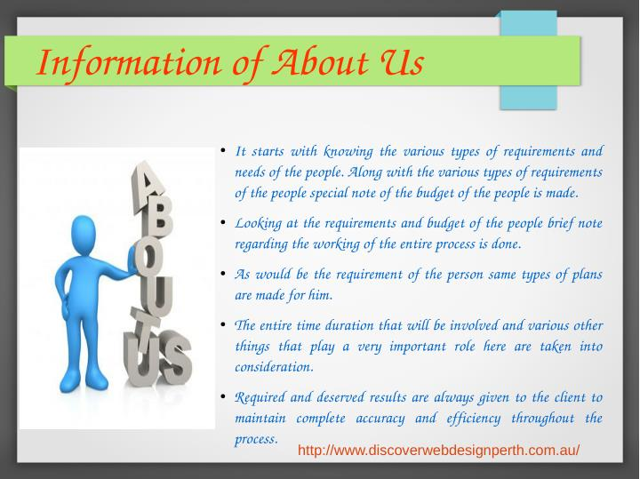 Information of About Us