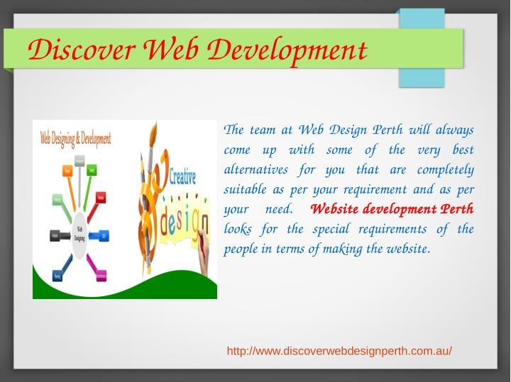 Discover Web Development