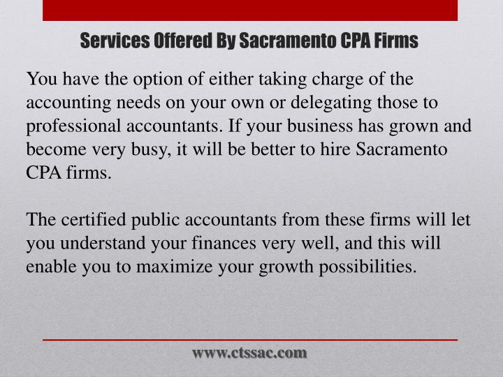 Services offered by sacramento cpa firms2