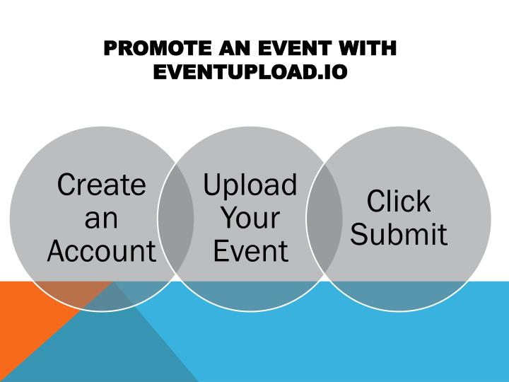 Promote an event with eventupload io
