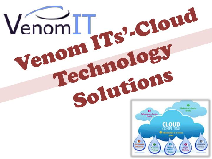Venom its cloud technology solutions