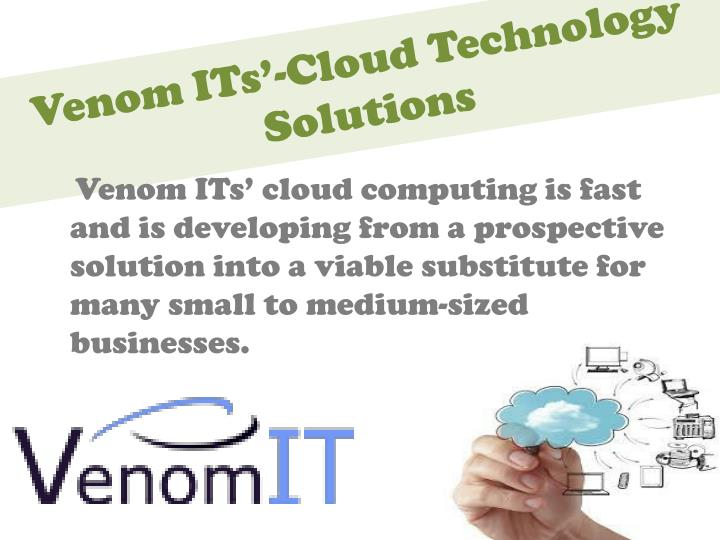 Venom its cloud technology solutions1