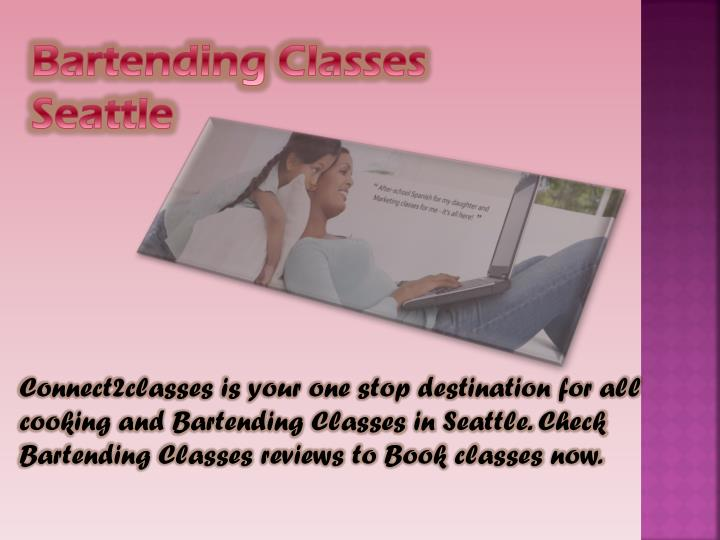 Bartending Classes Seattle