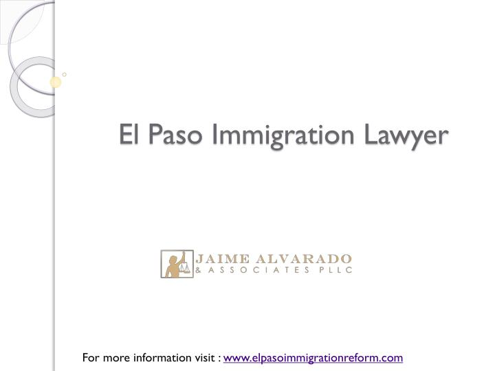 El paso immigration lawyer