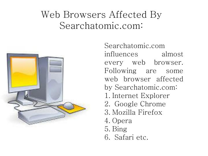 Web Browsers Affected By