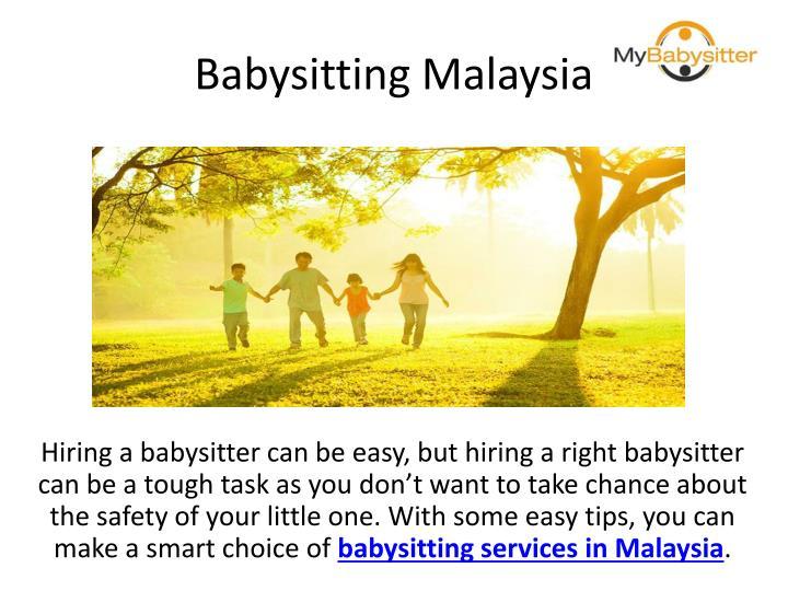 Babysitting Malaysia