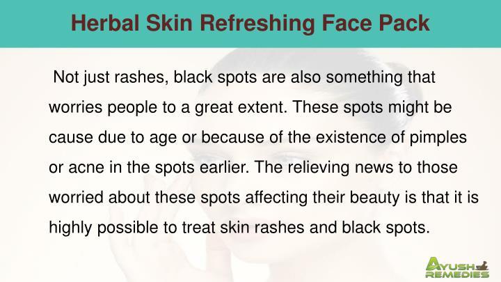 Herbal Skin Refreshing Face Pack