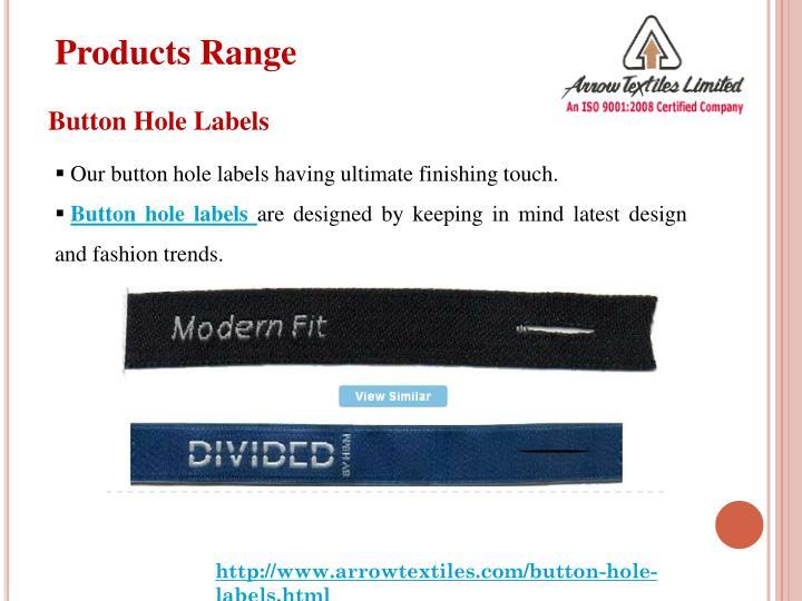 Products Range