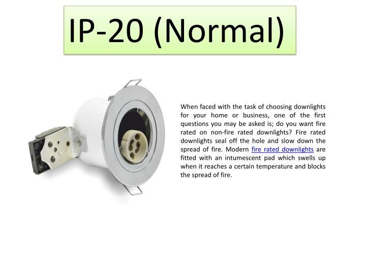 IP-20 (Normal)
