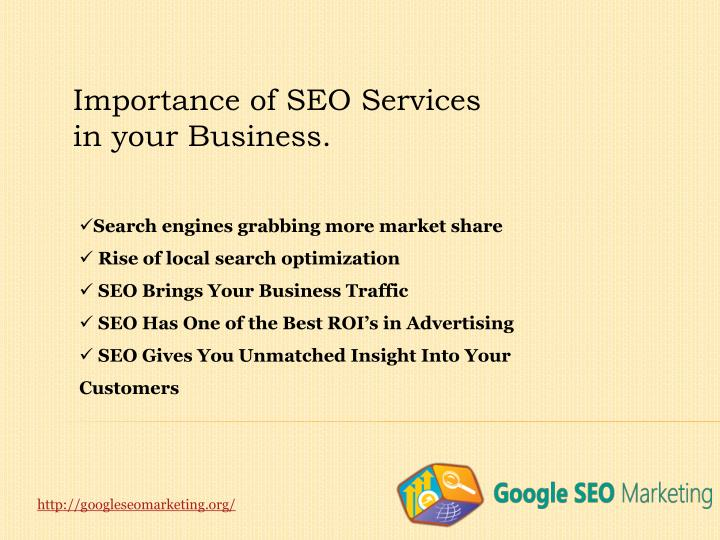 Importance of SEO Services in your Business.