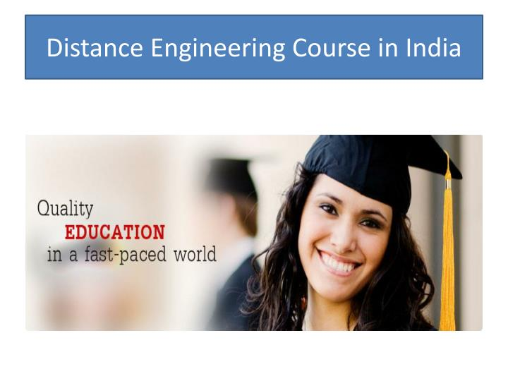 Distance Engineering Course in India
