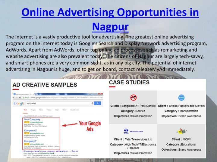 Online Advertising Opportunities in
