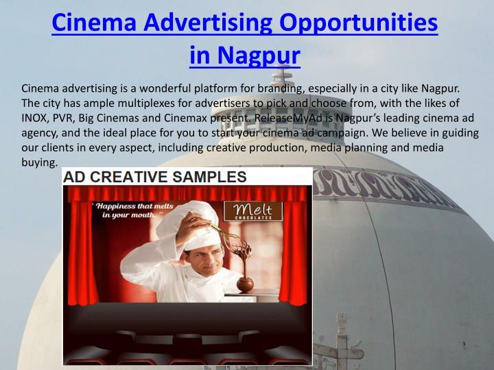 Cinema Advertising Opportunities in