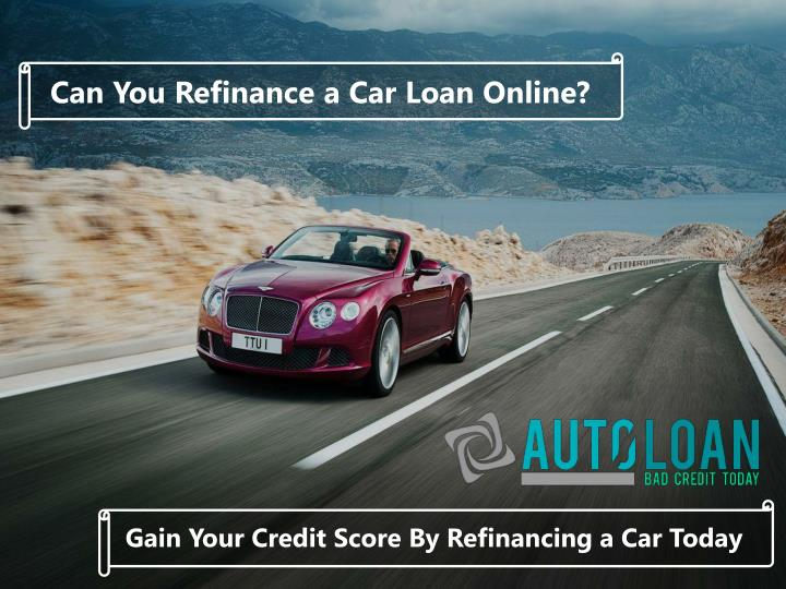 Can You Refinance a Car