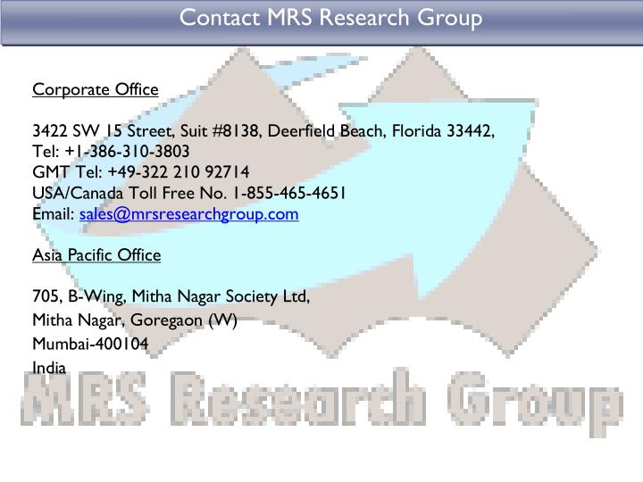 Contact MRS Research Group