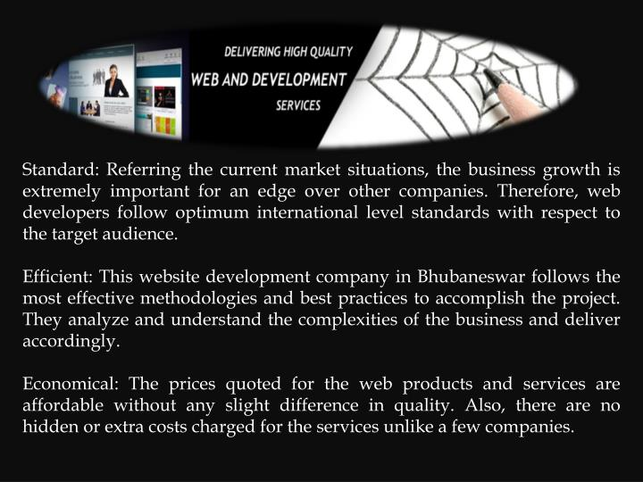 Standard: Referring the current market situations, the business growth is extremely important for an...