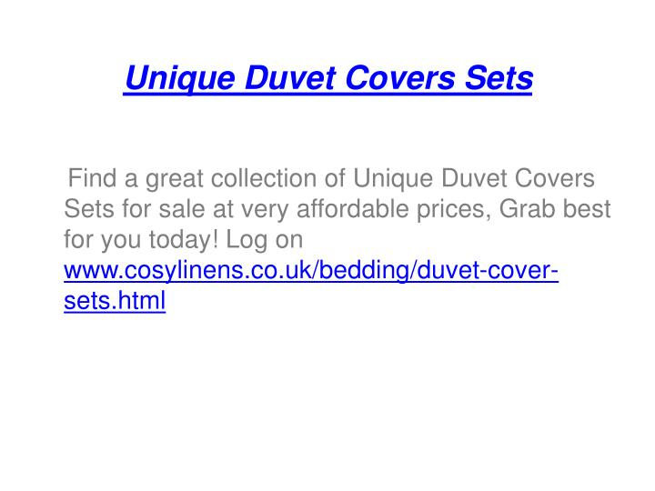 Unique duvet covers sets1