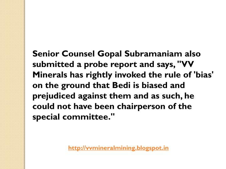 Senior Counsel