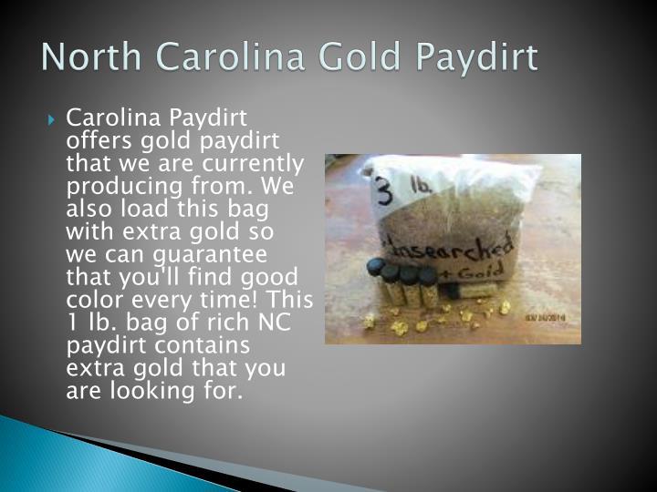 North Carolina Gold