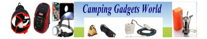 Making your camping fun with these cool gadgets