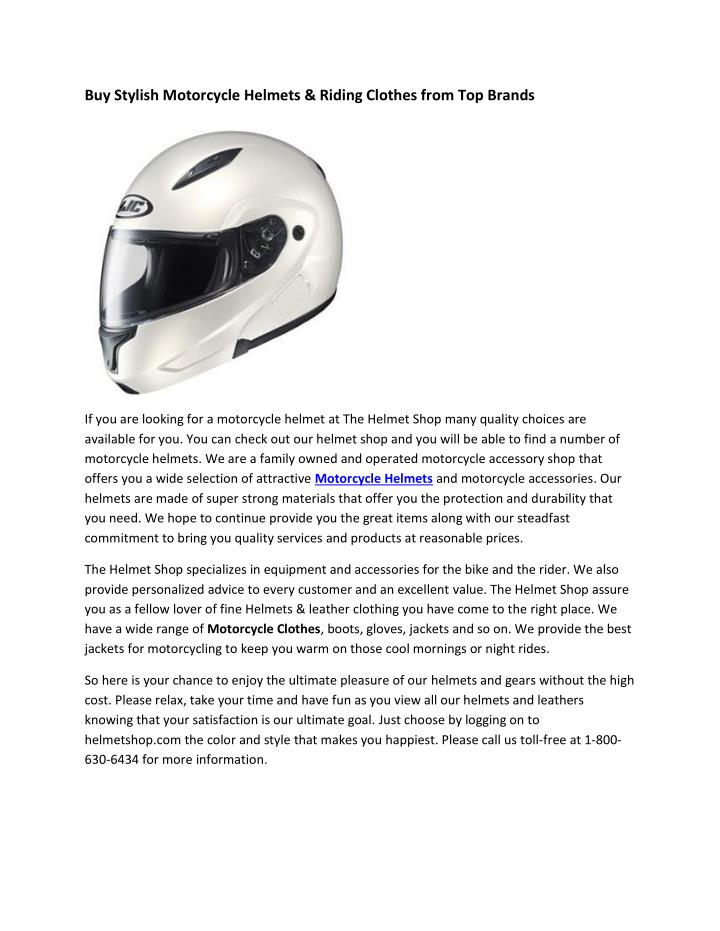 Buy Stylish Motorcycle Helmets &