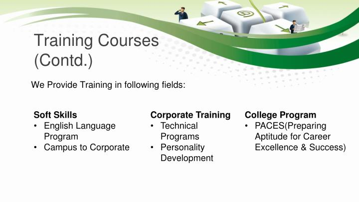 Training Courses (Contd.)