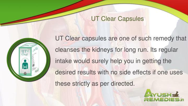 UT Clear Capsules