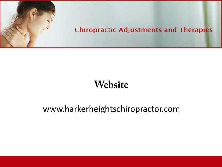 www.harkerheightschiropractor.com