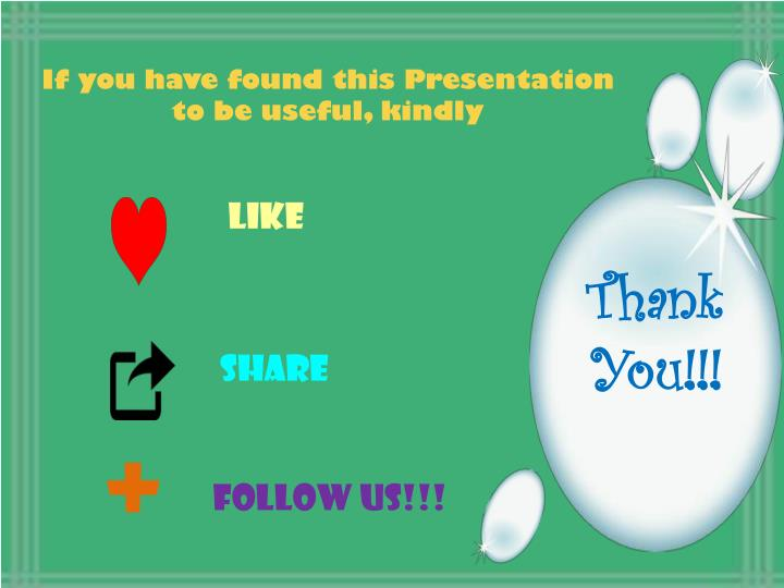 If you have found this Presentation