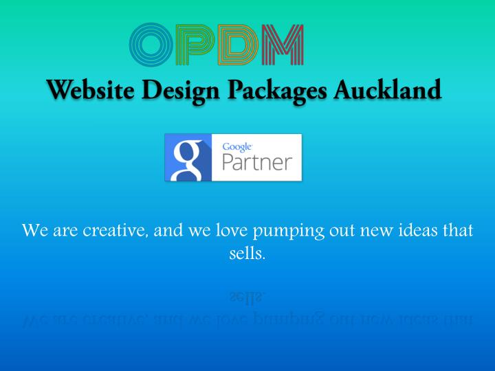 Website design packages auckland