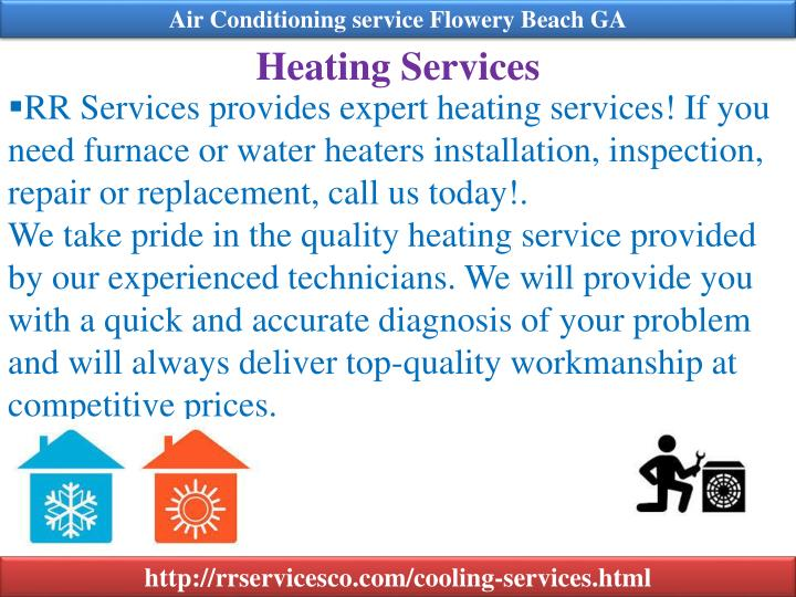 Air Conditioning service Flowery Beach GA