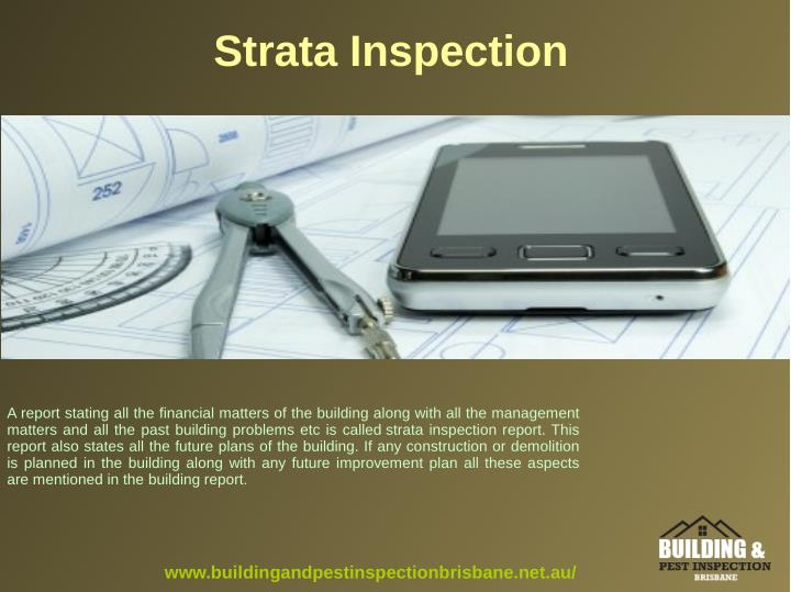 Strata Inspection