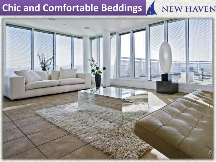Chic and Comfortable Beddings