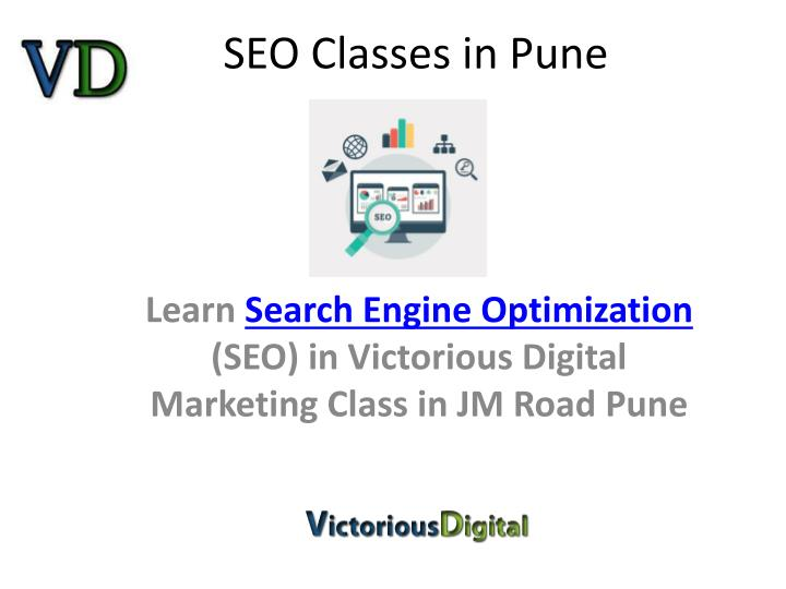 Seo classes in pune