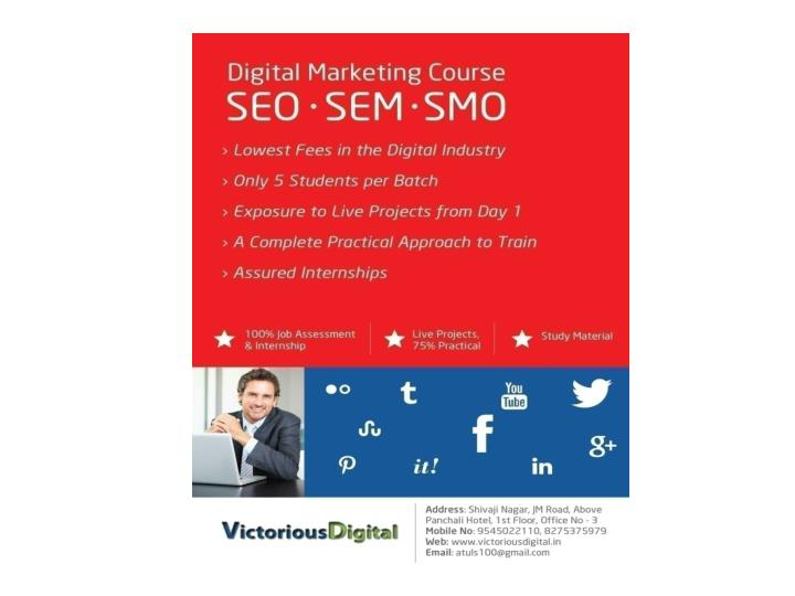 Best seo classes training institute pune seo expert training institute course in pune