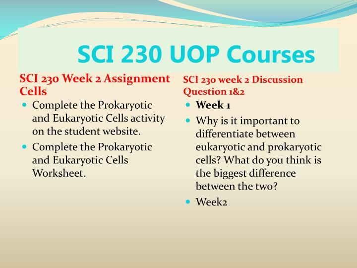 Sci 230 week 1 scientifi method