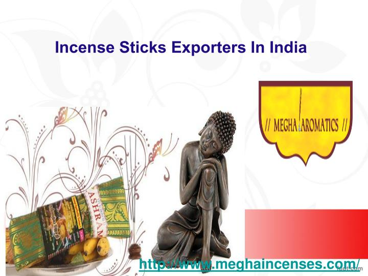 Incense sticks exporters in india