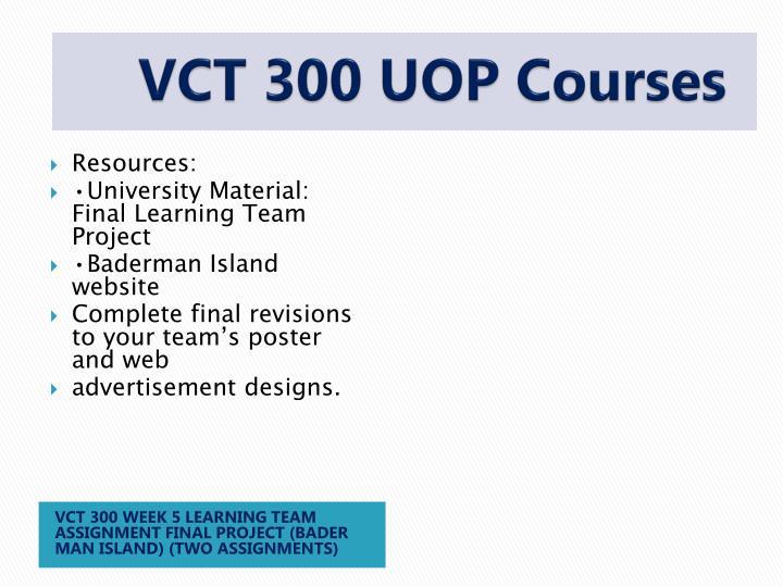 VCT 300