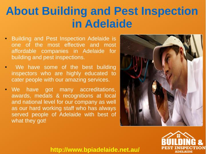 About Building and Pest Inspection