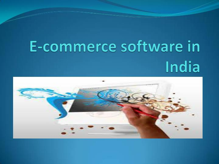 E commerce software in india