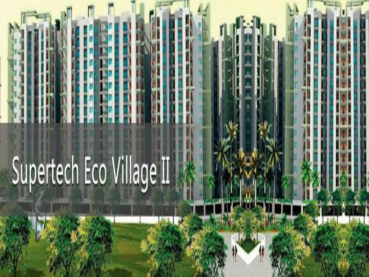 Supertech eco village 2 residential project